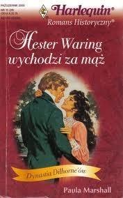 Okładka książki Hester Waring wychodzi za mąż