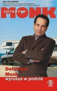 Okładka książki Detektyw Monk wyrusza w podróż