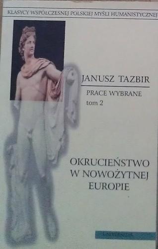 Okładka książki Okrucieństwo w nowożytnej Europie