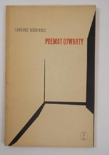 Okładka książki Poemat otwarty