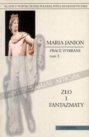 Okładka książki Zło i fantazmaty