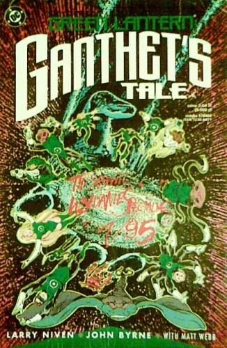 Okładka książki Green Lantern: Ganthet's Tale