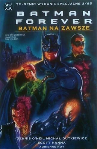 Okładka książki Batman Forever