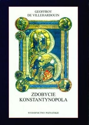 Okładka książki Zdobycie Konstantynopola