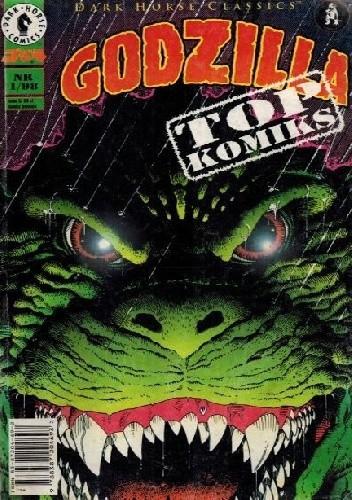 Okładka książki Godzilla