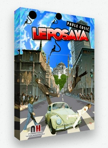 Okładka książki Leposava