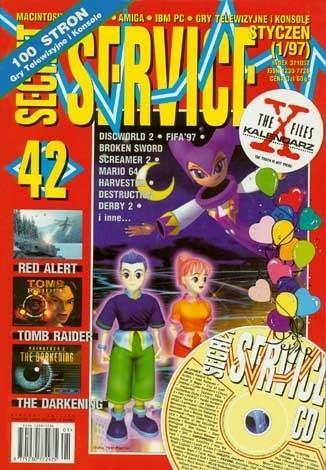 Okładka książki Secret Service 42 (styczeń 1997)