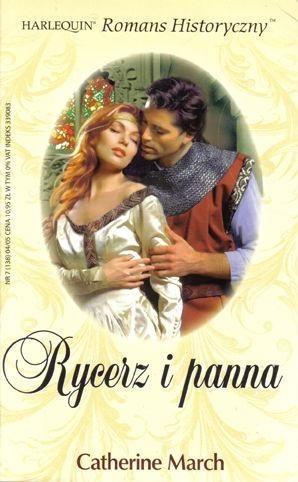 Okładka książki Rycerz i panna