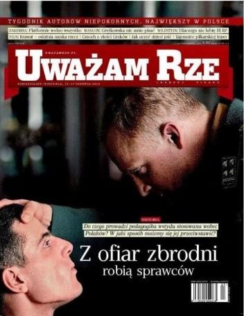 Okładka książki Uważam Rze nr. 24(71)/2012