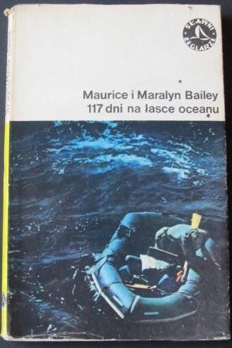 Okładka książki 117 dni na łasce oceanu