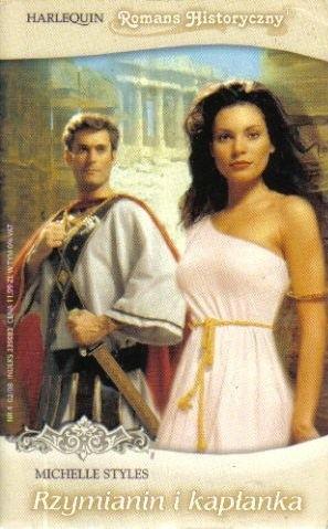 Okładka książki Rzymianin i kapłanka