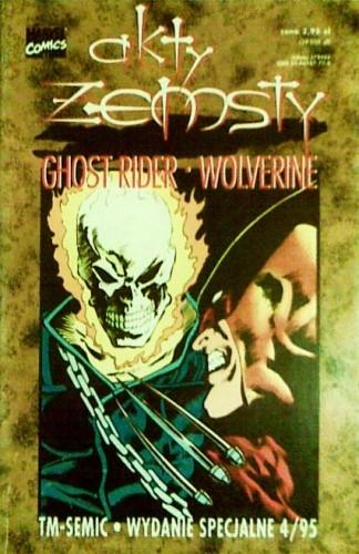Okładka książki Ghost Rider/Wolverine: Akty Zemsty
