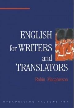 Okładka książki English for Writers and Translators