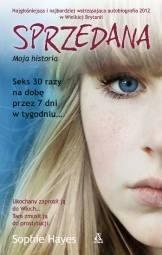 Okładka książki Sprzedana. Moja historia