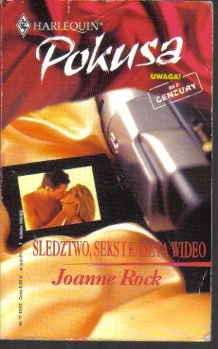 Okładka książki Śledztwo, seks i kaseta wideo