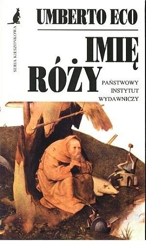 Okładka książki Imię róży