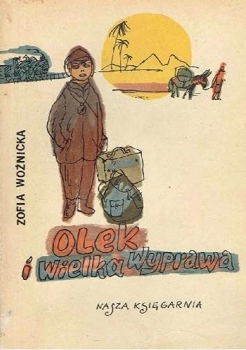 Okładka książki Olek i wielka wyprawa