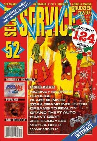 Okładka książki Secret Service 52 (grudzień 1997)