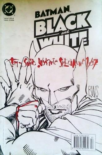 Okładka książki Batman: Black and White I #1