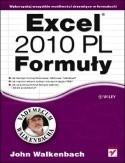 Okładka książki Excel 2010 PL Formuły