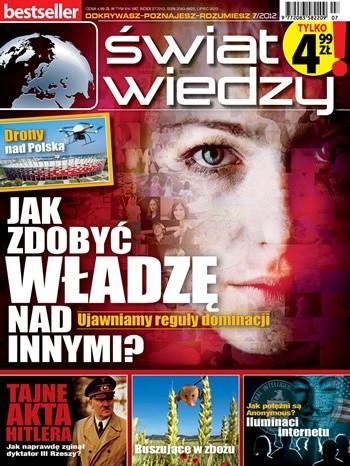 Okładka książki Świat Wiedzy (7/2012)