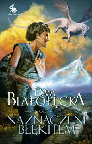 Okładka książki Naznaczeni błękitem: Księga I