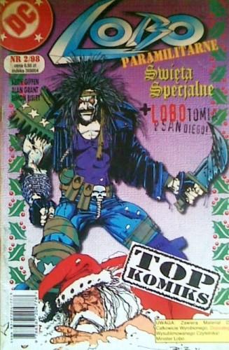 Okładka książki Lobo: Paramilitarne Święta Specjalne / LOBOtomia w San Diego