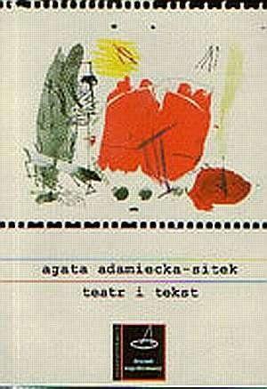 Okładka książki Teatr i tekst