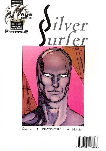 Okładka książki Silver Surfer: Przypowieść