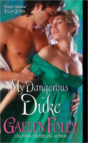 Okładka książki My Dangerous Duke