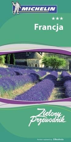 Okładka książki Francja. Zielony Przewodnik Michelin