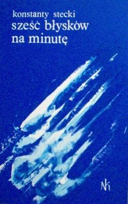 Okładka książki Sześć błysków na minutę