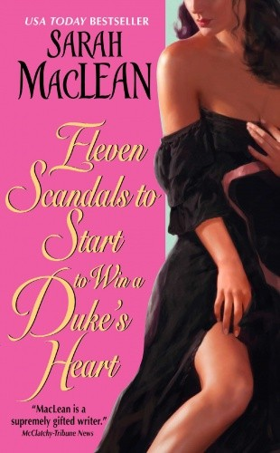 Okładka książki Eleven Scandals to Start to Win a Duke's Heart