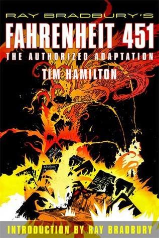 Okładka książki Fahrenheit 451: The Authorized Adaptation