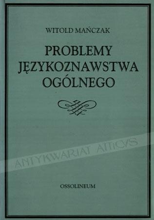 Okładka książki Problemy językoznawstwa ogólnego