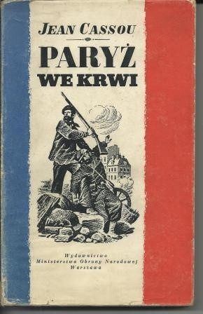 Okładka książki Paryż we krwi