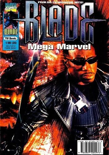 Okładka książki Mega Marvel #20: Blade