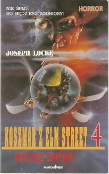 Okładka książki Koszmar z Elm Street 4. Mistrz snów
