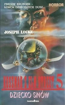 Okładka książki Koszmar z Elm Street 5. Dziecko snów