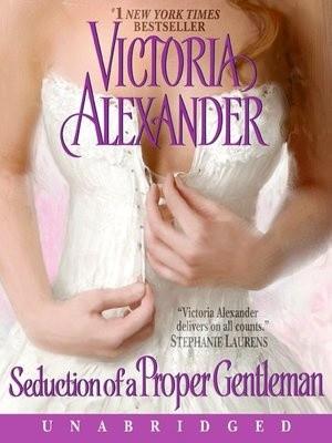 Okładka książki Seduction of a proper gentleman