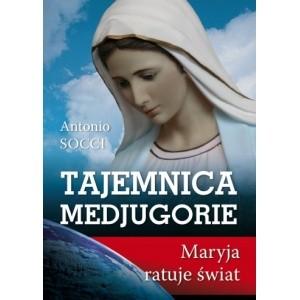 Okładka książki Tajemnice Medjugorie. Maryja ratuje świat