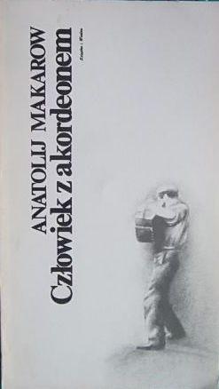 Okładka książki Człowiek z akordeonem