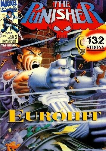 Okładka książki The Punisher 3/1995