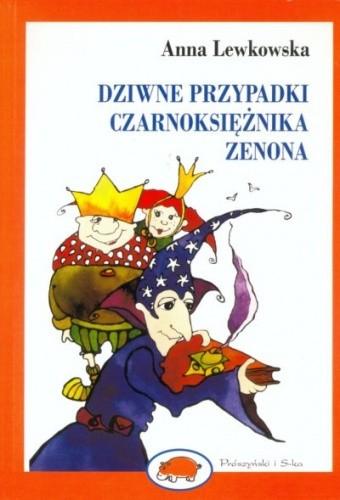 Okładka książki Dziwne przypadki czarnoksiężnika Zenona