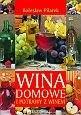 Okładka książki Wina domowe i potrawy z winem