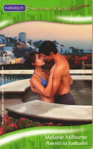 Okładka książki Powrót na Santorini