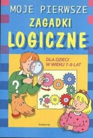 Okładka książki Moje pierwsze zagadki logiczne