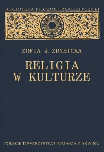 Okładka książki Religia w kulturze. Studium z filozofii religii