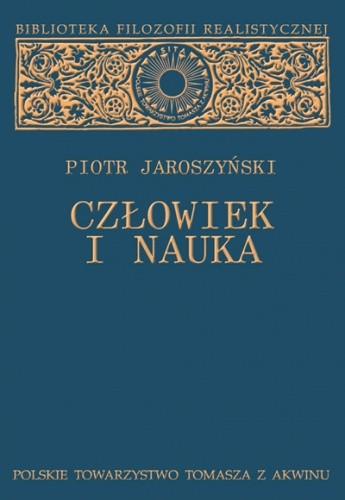 Okładka książki Człowiek i nauka. Studium z filozofii kultury