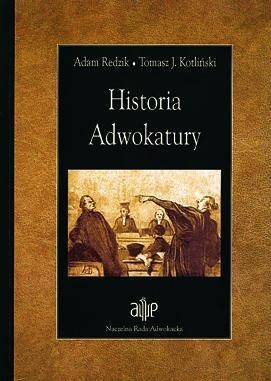 Okładka książki Historia adwokatury